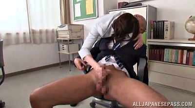 Boss, Pantyhose handjob, Pantyhose cock, Asian office, Office pantyhose, In pantyhose
