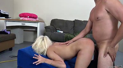 Huge pussy, Huge natural tits