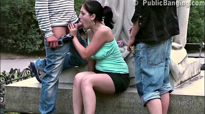 Sex in public, Young girls