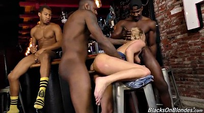 Interracial, Bar, Black girl