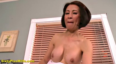 Asian mature, Big tit