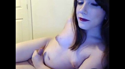 Trans, Shemale cumshot, Shemale solo