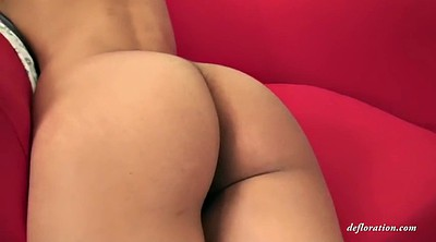 Teen first, Russian solo, First time virgin