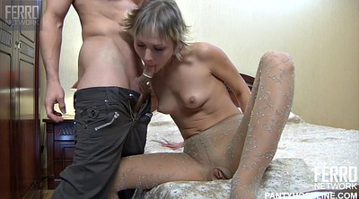 Nylon blowjob, Nylon fuck