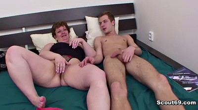 Young boy, Mom anal