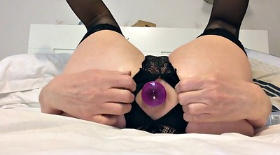 Anal plug, Plug, Rabbit, Butt plug, Amateur squirt