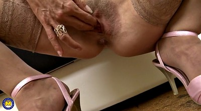 Granny hairy, Hungry, Hairy mature, Feed