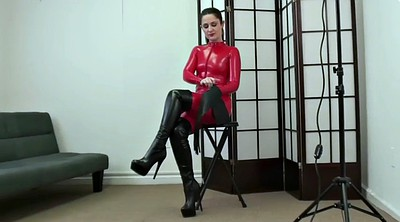 Boot, Red, Catsuit
