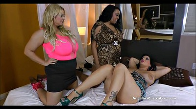 Angelina, Black lesbian, Lesbian strap on, Bbw interracial, Angelina castro