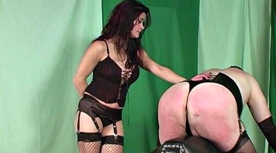Spanked, Crossdresser, Paddled, Paddle