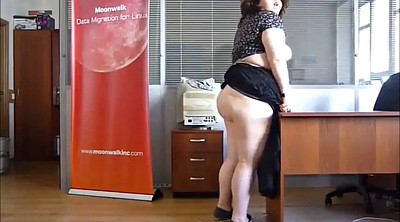 Fatty, Mature secretary, Russian mature