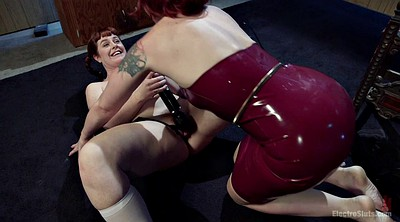 Tied up, Tied, Lesbian latex, Redhead anal, Face sit