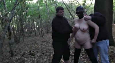 Wife gangbang, Forest, Wife mature
