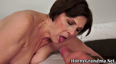 Grandma, Shower mature, Grandmas, Grandma blowjob