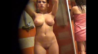 Hidden cam shower, Workout
