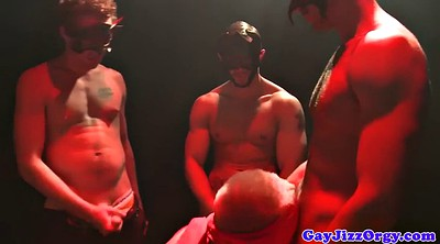 Orgy, Blindfold, There, Hairy orgy