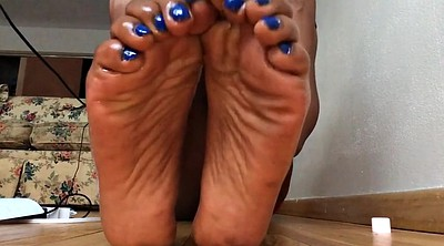 Ebony feet, Foot feet