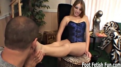 Femdom, Toes, Foot lick, Sexy lingerie