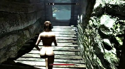 Cartoon, Cartoons, Bdsm public, Skyrim