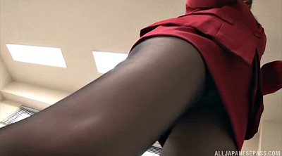 Pantyhose, Yui, Asian office