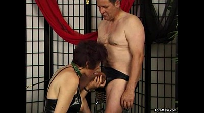 Pervert, Mature hairy, Granny blowjob