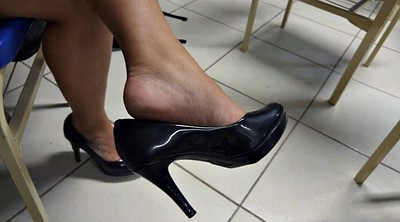 High, Shoeplay, Candid feet, Legs, High-heeled