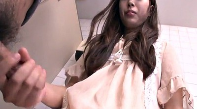 Japanese handjob, Abused, Abuse, Japanese girls, Bathroom, Japanese c