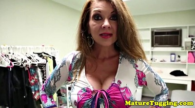 Mom handjob, Bigtits, Taboo mom