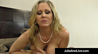 Julia ann, Mature feet, Julia ann milf, Mature foot, Anne, Hand fetish