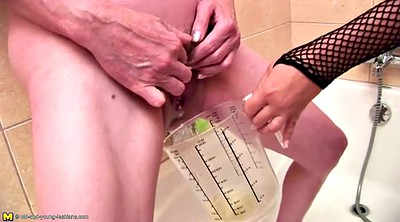 Old mom, Fisted, Old and young lesbians, Piss mature, Mom and daughter, Granny piss