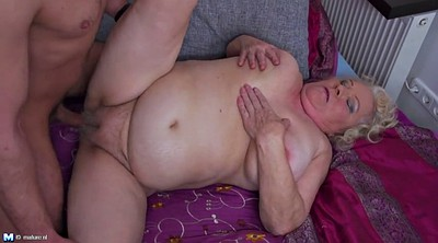 Hairy granny, Young boys, Mature boy, Hairy mature