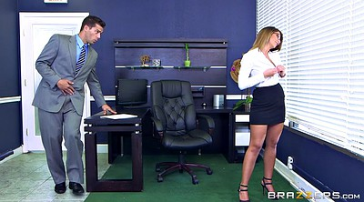 Secretary, Caught, Rubbing, London, Catch, Office boss