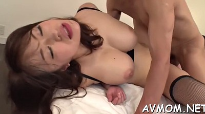 Japanese milf, Asian threesome, Asian mature