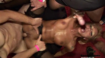 Ginger, Group sex orgy