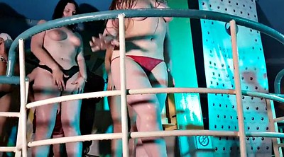 Striptease, Club, Russian party, Public flash, Contest