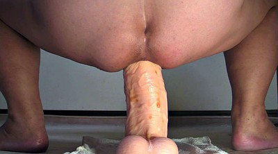 Monster, Gape, Bbw anal, Anal gape, Monster dildo, Monster anal