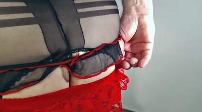 Stocking, Nylon handjob, Handjob nylon