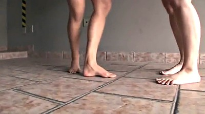 Clean, Feet face, Dirty feet, Cleaning, Female, Feet femdom
