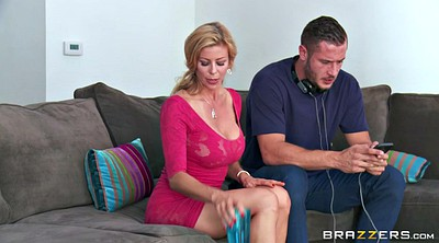 Danny d, Alexis fawx, Danny, Mom seduced, Busty mom