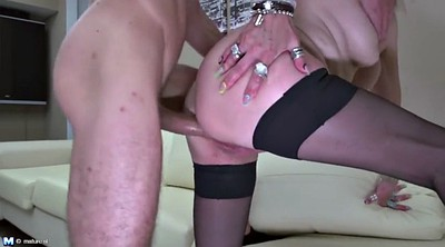 Mother son, Mature son, Mature anal, Young son