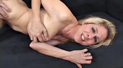 Busty mom, Orgasm, Mom blowjob