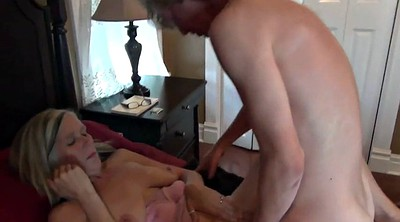 Old mom, Old mature, Blowjob