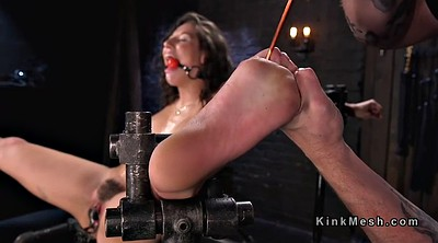 Bound, Slaves, Feet slave