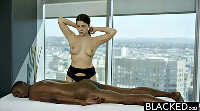 Valentina nappy, Interracial threesome, Black rimming