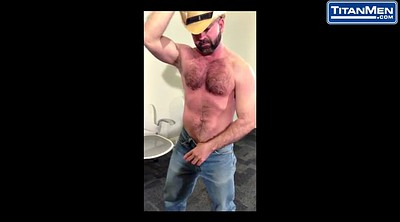 Muscle daddy, Big cock gay