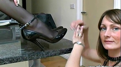 High heels, Shoe, Nylon foot, Foot fetish, High shoe