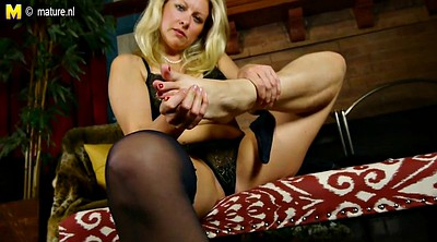 Blonde mature, Amateur mom, American mom