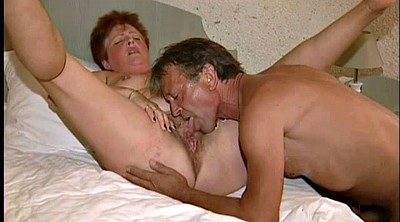 Granny, Granny threesome, Mature hairy, Call
