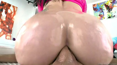 Big ass, Chubby anal, Oil anal
