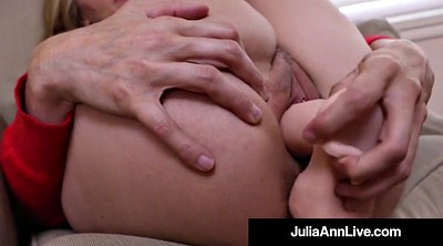 Julia ann, Julia, Big dildo